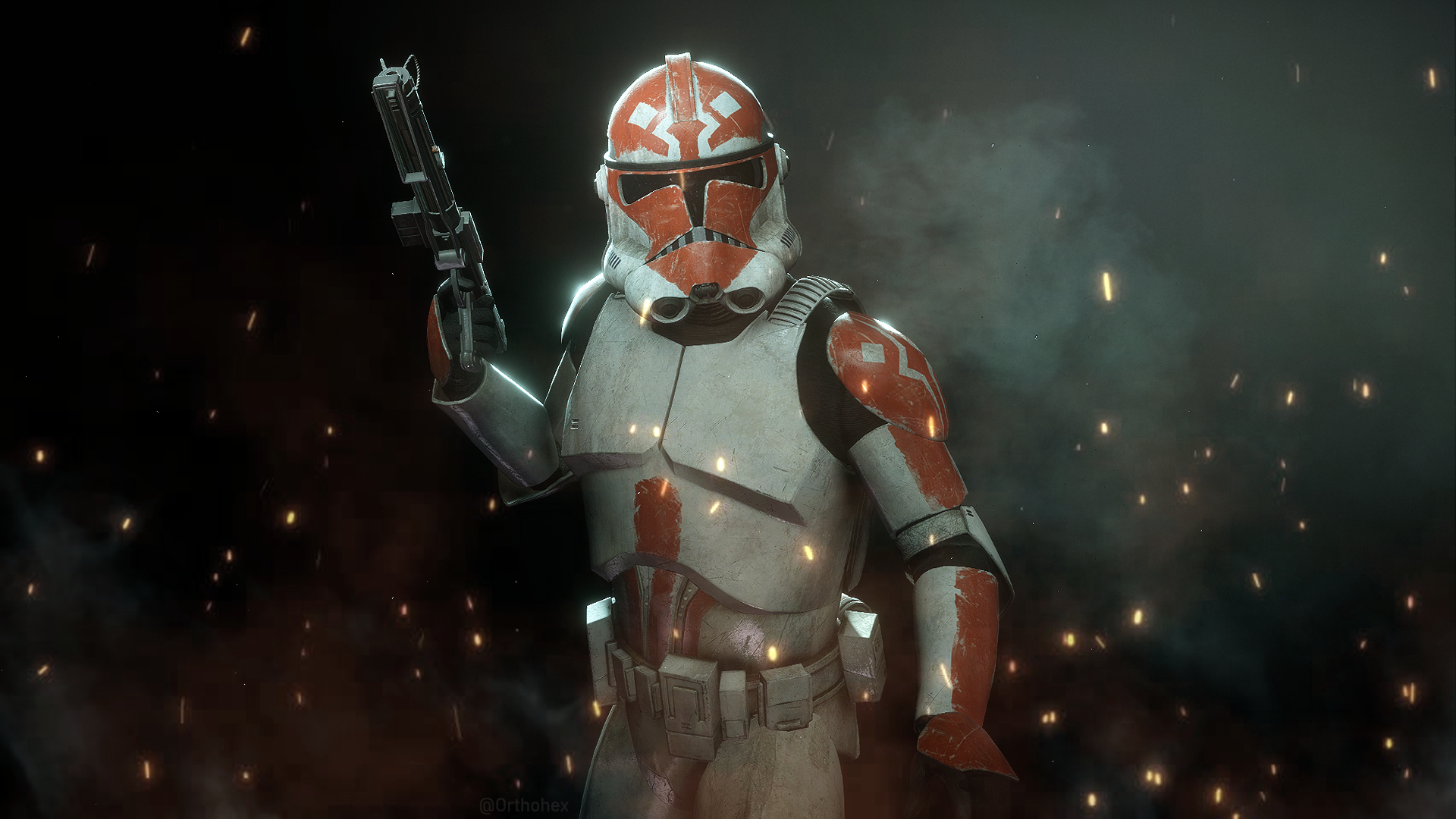 To celebrate #CloneWarsSaved, I recreated the 332nd ahead of the new  season. : StarWarsBattlefront